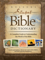 Nelson's Student Bible Dictionary