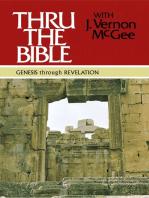 Thru the Bible: Genesis through Revelation