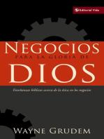 Negocios para la gloria de Dios: Enseñanzas bíblicas acerca de la ética en los negocios