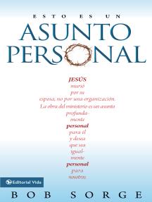 Esto es un asunto personal: Jesús murió por su esposa, no por una empresa.