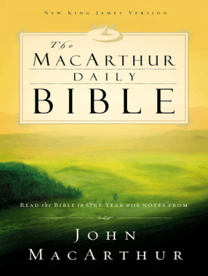 NKJV, The MacArthur Daily Bible, eBook by Thomas Nelson - Read Online