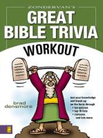 Zondervan's Great Bible Trivia Workout
