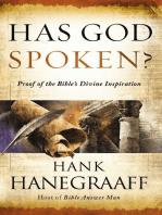 Has God Spoken?