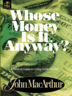 Whose Money Is It Anyway?