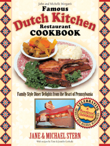 The Famous Dutch Kitchen Restaurant Cookbook: Family-Style Diner Delights from the Heart of Pennsylvania
