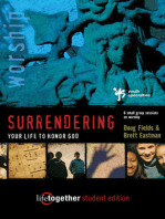 Surrendering Your Life for God's Pleasure