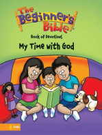 The Beginner's Bible Book of Devotions---My Time with God