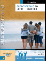 Surrendering to Christ
