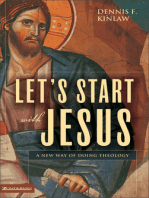 Let's Start with Jesus