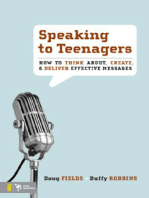 Speaking to Teenagers