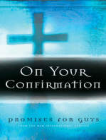 On Your Confirmation Promises for Guys
