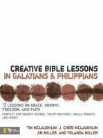 Creative Bible Lessons in Galatians and Philippians