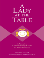 A Lady at the Table