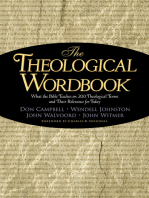Theological Wordbook