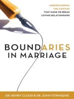 Boundaries in Marriage