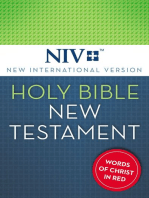 NIV, Holy Bible, New Testament, eBook, Red Letter Edition