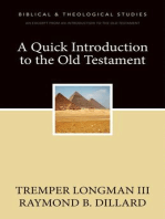 A Quick Introduction to the Old Testament