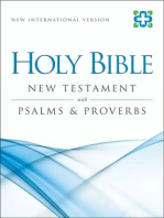 NIV, New Testament with Psalms and Proverbs, eBook