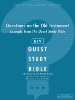 Q and A on the Old Testament