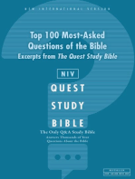 NIV, Top 100 Q and   A of the Bible
