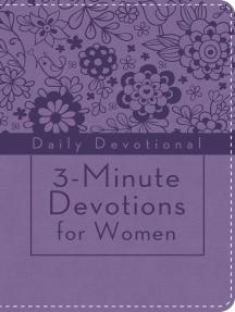 3-Minute Devotions for Women: Daily Devotional (purple)