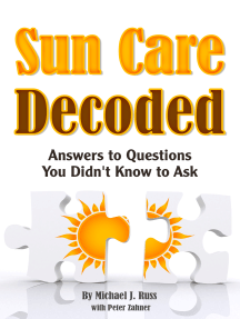 Sun Care Decoded: Answers to Questions You Didn't Know to Ask