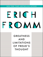 Greatness and Limitations of Freud's Thought