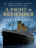 A Night to Remember: The Sinking of the Titanic