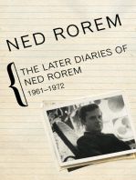 The Later Diaries of Ned Rorem, 1961–1972