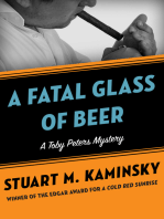 A Fatal Glass of Beer