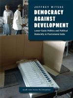 Democracy against Development