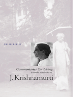 J Krishnamurti Commentaries On Living Series 3