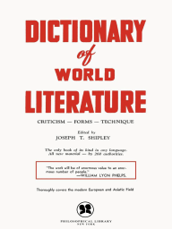 Dictionary of World Literature