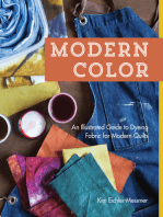 Modern Color—An Illustrated Guide to Dyeing Fabric for Modern Quilts