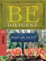 Be Diligent (Mark)