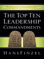 The Top Ten Leadership Commandments