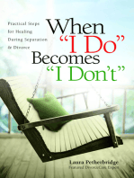 """When """"I Do"""" Becomes """"I Don't"""""""
