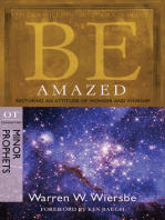 Be Amazed (Minor Prophets)