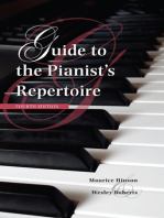 Guide to the Pianist's Repertoire, Fourth Edition