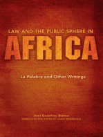 Law and the Public Sphere in Africa