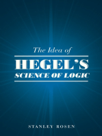 "The Idea of Hegel's ""Science of Logic"""