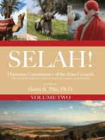 Selah! Harmony Commentary of the Four Gospels {ebook Volume 2}