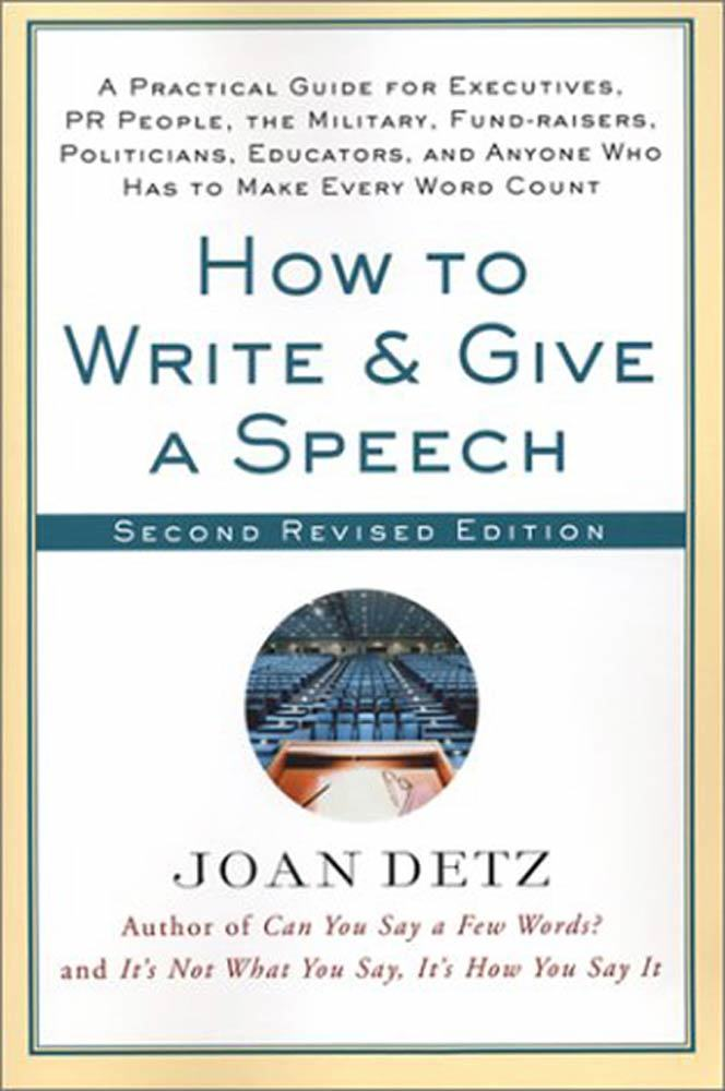 Write a speech online