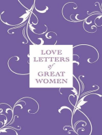 Love Letters of Great Women