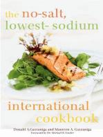 The No-Salt, Lowest-Sodium International Cookbook