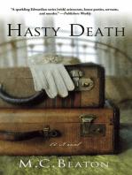 Hasty Death: An Edwardian Murder Mystery