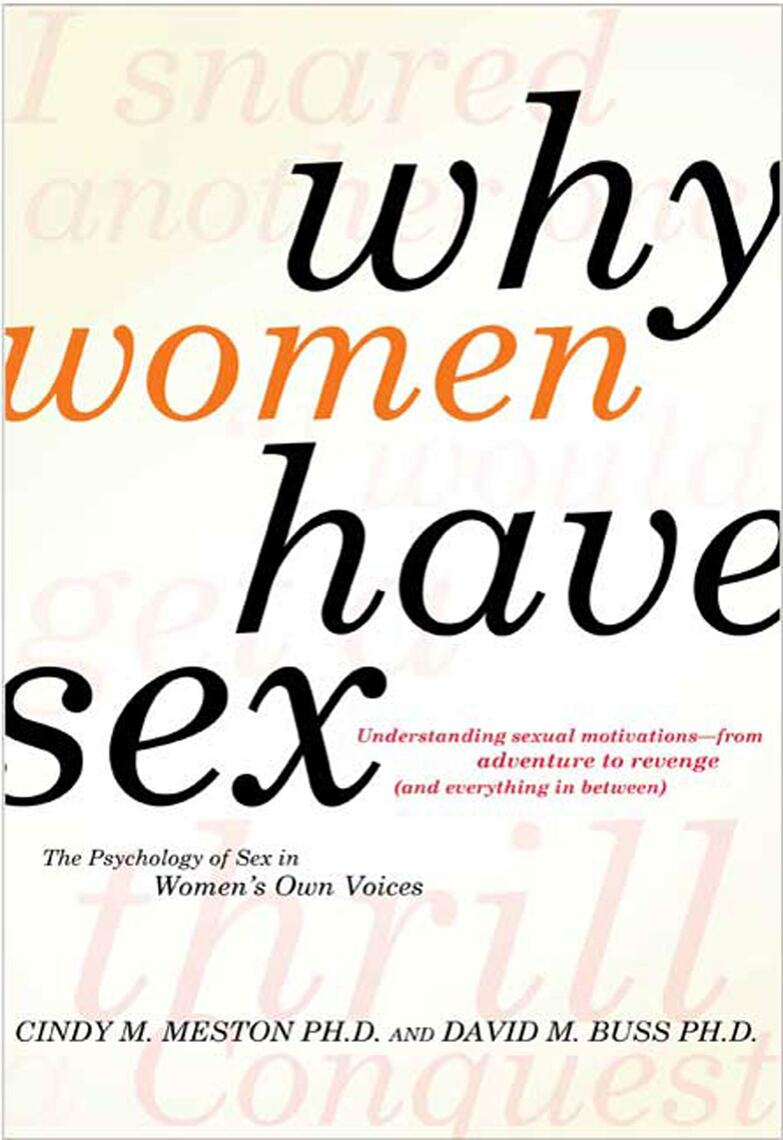 Why Do Women Have Sex 120