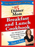 The $5 Dinner Mom Breakfast and Lunch Cookbook