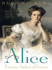 Alice: Princess Andrew of Greece