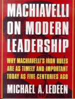 Machiavelli on Modern Leadership
